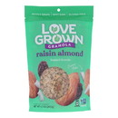 Love Grown Foods Oat Clusters - Raisin Almond Crunch - Case of 6 - 12 oz.