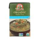 Dr. McDougall's Organic Split Pea Lower Sodium Soup - Case of 6 - 17.6 oz.