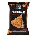 Food Should Taste Good Cheddar Tortilla Chips - Cheddar - Case of 12 - 5.5 oz.