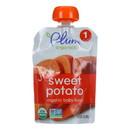 Plum Organics Just Veggie Baby Food - Sweet Potato - Case of 6 - 3 oz.