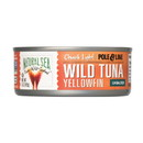Natural Sea Wild Yellowfin Tuna - Unsalted - 5 oz.