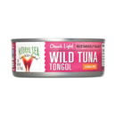 Natural Sea Wild Tongol Tuna - Unsalted - Case of 12 - 5 oz.