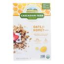 Cascadian Farm Organic Granola Cereal - Oats and Honey - Case of 6 - 16 oz