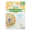 Cascadian Farm Cereal - Organic - Purely Os - 8.6 oz - case of 12