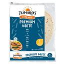 Tumaros Low-In-Carb Wraps - Premium White - 8\
