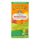 Annie's Homegrown Bernie's Farm Macaroni and Cheese Shapes - Case of 12 - 6 oz.