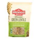 Arrowhead Mills - Organic Green Lentils - Case of 6 - 16 oz.