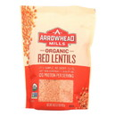 Arrowhead Mills - Organic Red Lentils - Case of 6 - 16 oz.