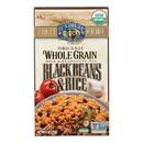 Lundberg Family Farms Organic Whole Grain - Black Beans and Rice - Case of 6 - 6 oz.