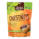 Blanchard and Blanchard Organic Whole Chestnuts - Roasted and Peeled - Case of 12 - 5.2 oz.