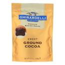 Ghirardelli Baking Cocoa - Premium - Sweet Ground - 10.5 oz - case of 6