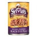 Sylvia's Black Eye Peas - Seasoned - 15 oz.