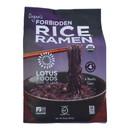 Lotus Foods Ramen - Organic - Forbidden Rice - 4 Ramen Cakes - 10 oz - case of 6