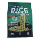 Lotus Foods Ramen - Organic - Jade Pearl Rice - 4 Ramen Cakes - 10 oz - case of 6
