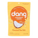 Dang Coconut Chips - Caramel Sea Salt - 3.17 oz - case of 12