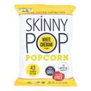 Skinnypop Popcorn Skinny Pop - White Cheddar - Case of 12 - 4.4 oz.