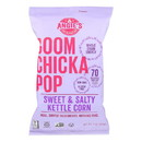 Angie's Kettle Corn Boom Chicka Pop Sweet and Salty Popcorn - Case of 12 - 7 oz.