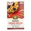 Nature's Path Organic Sunrise Cereal - Crunchy Cinnamon - Case of 12 - 10.6 oz.