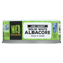 Wild Selections Solid White Albacore Tuna In Water - Case of 12 - 5 oz.