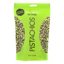 Wonderful Pistachios Roasted & Salted Pistachios - Case of 12 - 12 oz