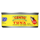 Cento Solid Pack Light Tuna - Cento Tonno - Case of 24 - 5 oz.