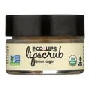Ecolips Organic Lip Scrub - Brown Sugar - Case of 6 - 0.5 oz.
