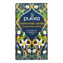 Pukka Herbal Teas Tea - Organic - Chamomile Vanilla and Manuka Honey - 20 bags - Case of 6
