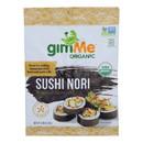 Gimme Seaweed Snacks 100% Organic Roasted Seaweed Sushi Nori - Wrap N' Roll - Case of 12 - .81 oz