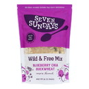 Seven Sundays Muesli - Blueberry Chia Buckwheat - Case of 6 - 12 oz.