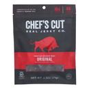 Chef's Cut Real Steak Jerky - Original Recipe - Case of 8 - 2.5 oz.