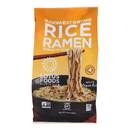 Lotus Foods Buckwheat Mushroom Brown Rice Ramen with Vegetable Soup - Case of 10 - 2.8 oz.