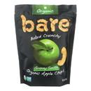 Bare Fruit Organic Bare Apple Chips - Case of 12 - 3 oz.
