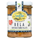 Bela-Olhao Sardines Skip Jack Tuna Jar - Extra Virgin Olive Oil - Case of 6 - 6.7 oz