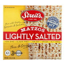 Streit's Matzos - Lightly Salted - Case of 12 - 11 oz.