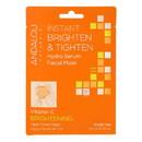 andalou Naturals Instant Brighten & Tighten Facial Mask - Vitamin C - Case of 6 - 0.6 fl oz