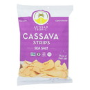 Artisan Tropic Cassava Strips - Sea Salt - Case of 12 - 4.5 oz.