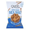 Quinn Popcorn Pretzels - Classic Sea Salt - Case of 8 - 7 oz