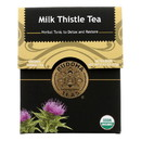 Buddha Teas - Organic Tea - Milk Thistle - Case of 6 - 18 Count