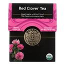 Buddha Teas - Organic Tea - Red Clover - Case of 6 - 18 Count