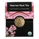 Buddha Teas - Organic Tea - Valerian Root - Case of 6 - 18 Count