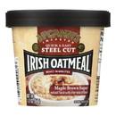 Mccann's Irish Oatmeal Instant Oatmeal Cup - Maple Brown Sugar - Case of 12 - 1.9 oz