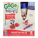 Gogo Squeez Low Fat Yogurt - Case of 12 - 4/3 oz