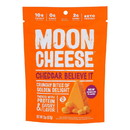 Moon Cheese's Cheddar Dehydrated Cheese Snack - Case of 12 - 2 oz