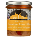 Cole's Tuna Fillets - In Olive Oil and Sweet Red Pepper - Case of 6 - 6.70 oz.
