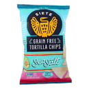 Siete Tortilla Chip - Sea Salt - Case of 12 - 5 oz