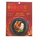 Mike's Organic Curry Love - Organic Curry Paste - Red Thai - Case of 6 - 2.8 oz.