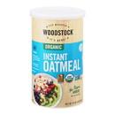 Woodstock Organic Instant Oatmeal - Case of 12 - 16 OZ