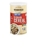Woodstock Non-GMO 5 Grain Cereal - Case of 12 - 18.5 OZ