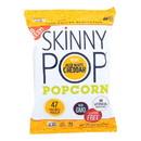Skinnypop Popcorn - Aged White Cheddar - Case of 12 - 4.4 oz