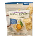 Crunchmaster Crackers - Tuscan Peasant Simply Olive Oil and Sea Salt - Case of 12 - 3.54 oz.
